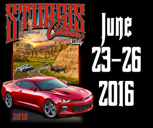 6th annual sturgis camaro rally 5th for White queen city motors sd
