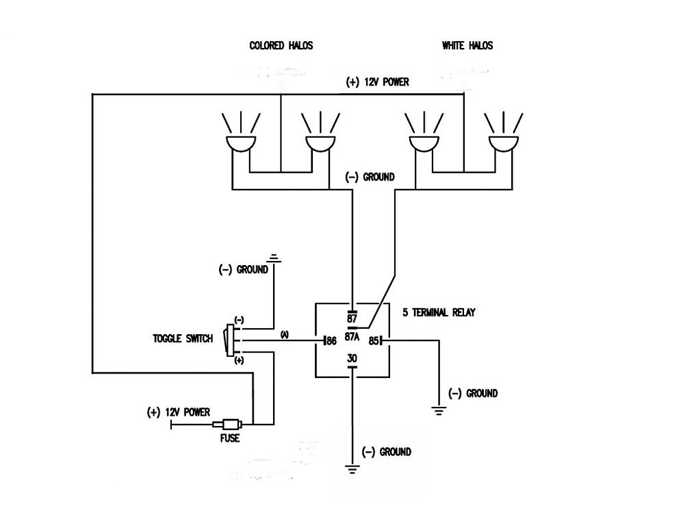 Halo Wiring Diagram - wiring diagrams schematics