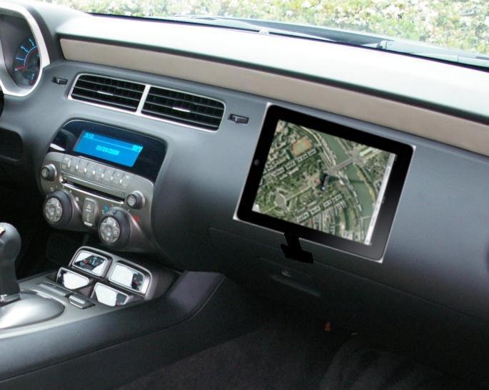 ipad and camaro dashboard - ModernCamaro com - 5th