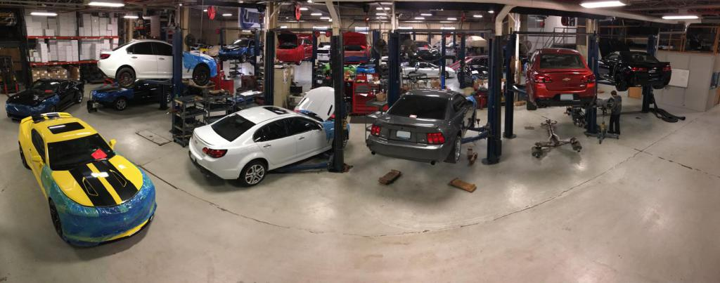 Livernois Motorsports cars in the shop!-panarama-4-phone-small.jpg