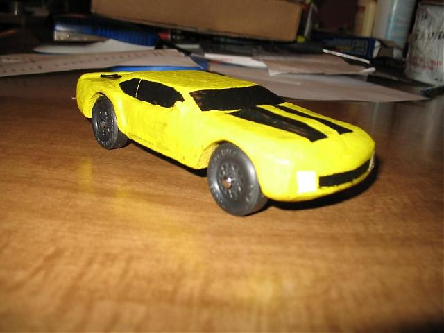 Pinewood Derby Camaro  ModerncamaroCom  Th Generation Camaro