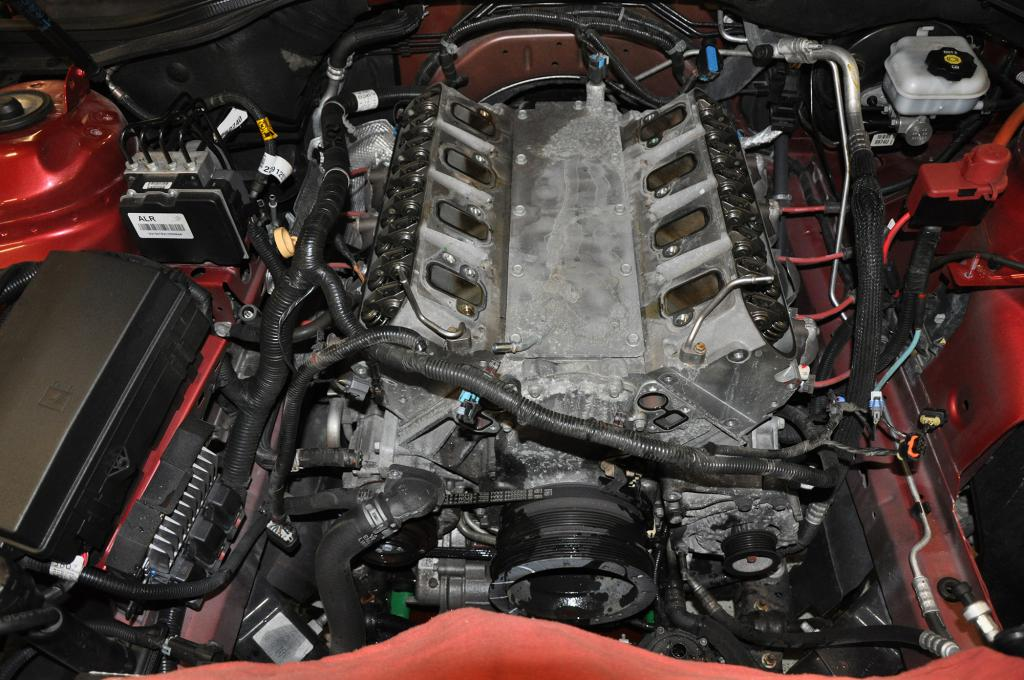 Livernois Motorsports 2013 ZL1 Build!-supercharger-off-small-3.jpg