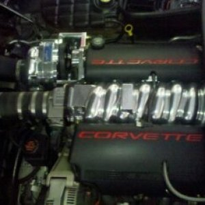 Twin Intercooled and Super Charged, by Quarter Mile Muscle. Call (704)664-9544 We build More Exciting Muscle Cars!