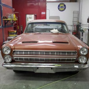 This is a clients car we are currently working on. This 1966 Mercury Comet also has a new 429 in her now.