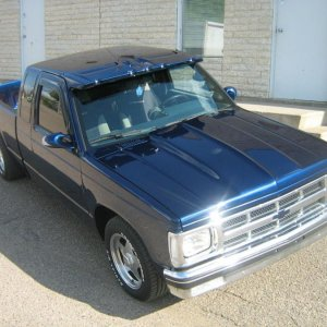My first build 89 S10 383 stroker
