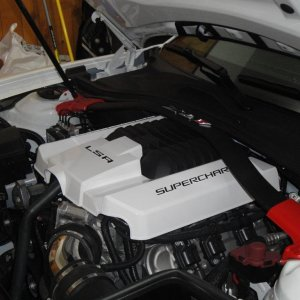 new engine cover